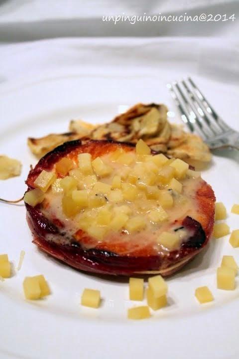 Tournedos di salmone con salsina al Gruyère DOP