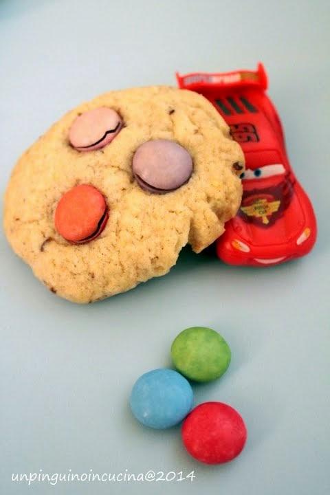 Smarties Cookies senza uovo