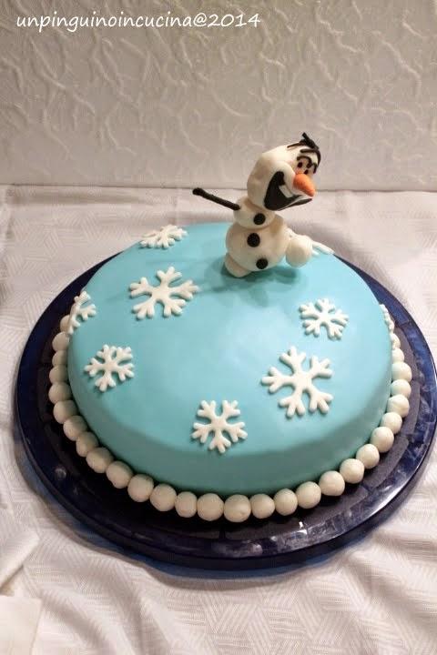 Torta di Olaf (Frozen)
