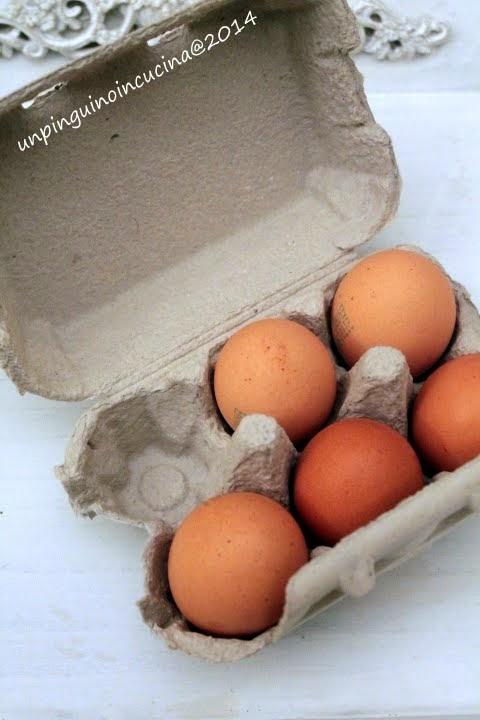 Scrambled eggs con uova di lompo