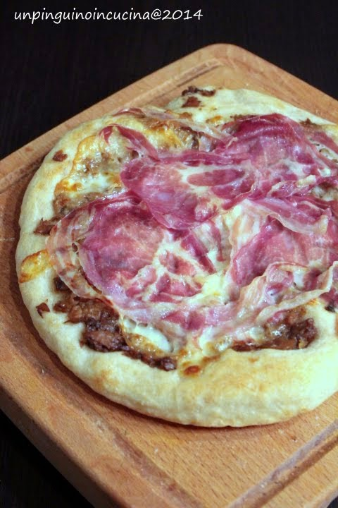 "Pizza ""dolce contrasto"""