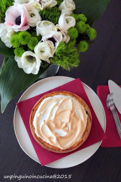Orange Meringue Pie (crostata meringata all'arancia)