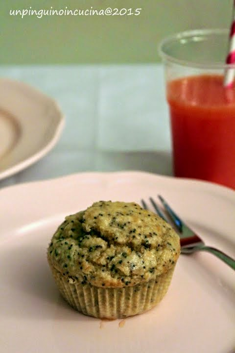 Almond Orange Poppyseed Muffin (senza lattosio)