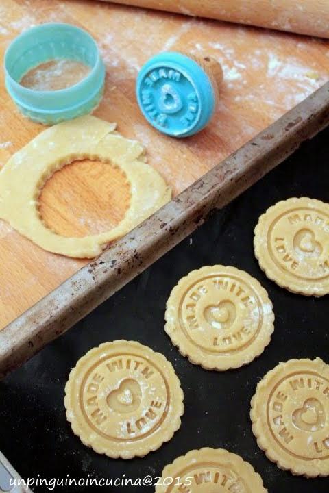 Biscotti al farro con timbro