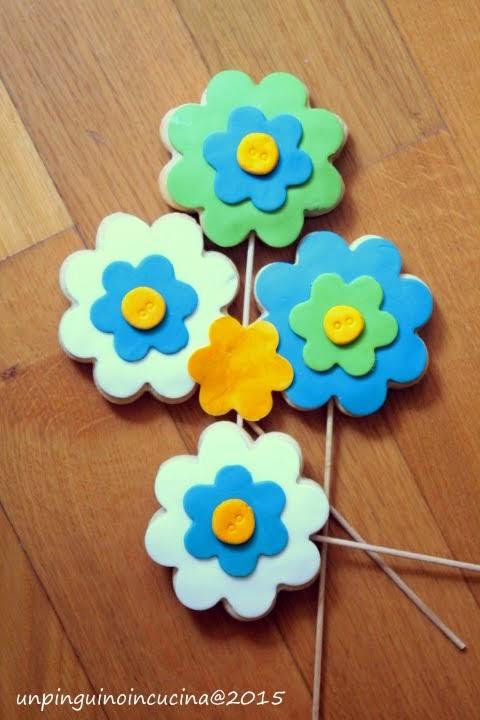 Biscotti in fiore