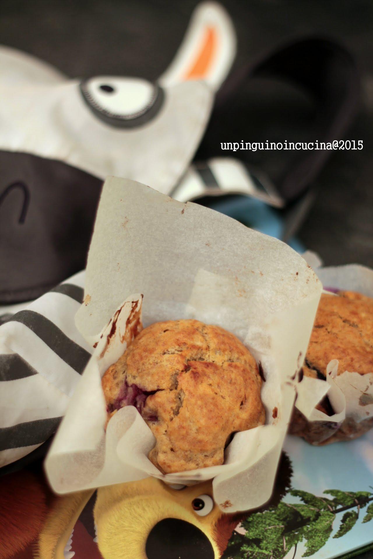 banana-blueberry-muffin