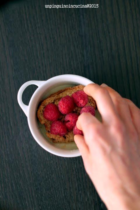 pudding-colomba-lamponi-senza-lattosio