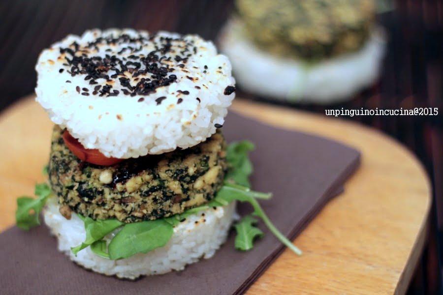 Veggie-Rice-Burger