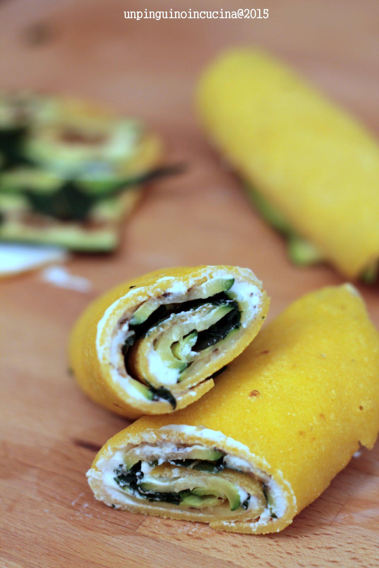 rotolini-di-mais-con-labneh-zucchine-grigliate-e-menta