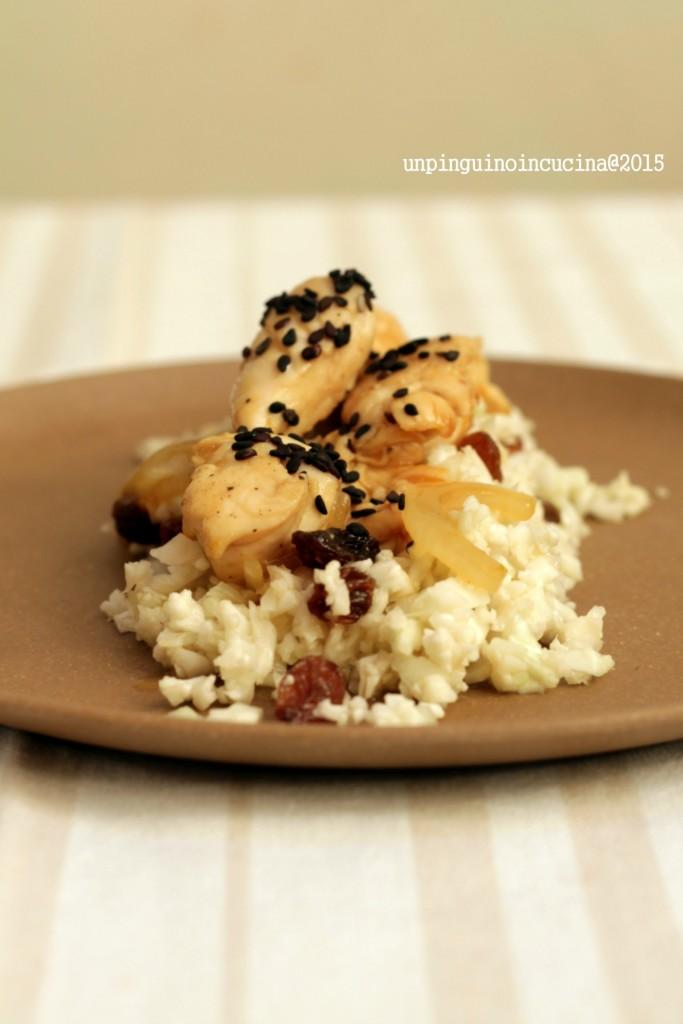 pollo-all'arancia-con-couscous-di-cavolfiore