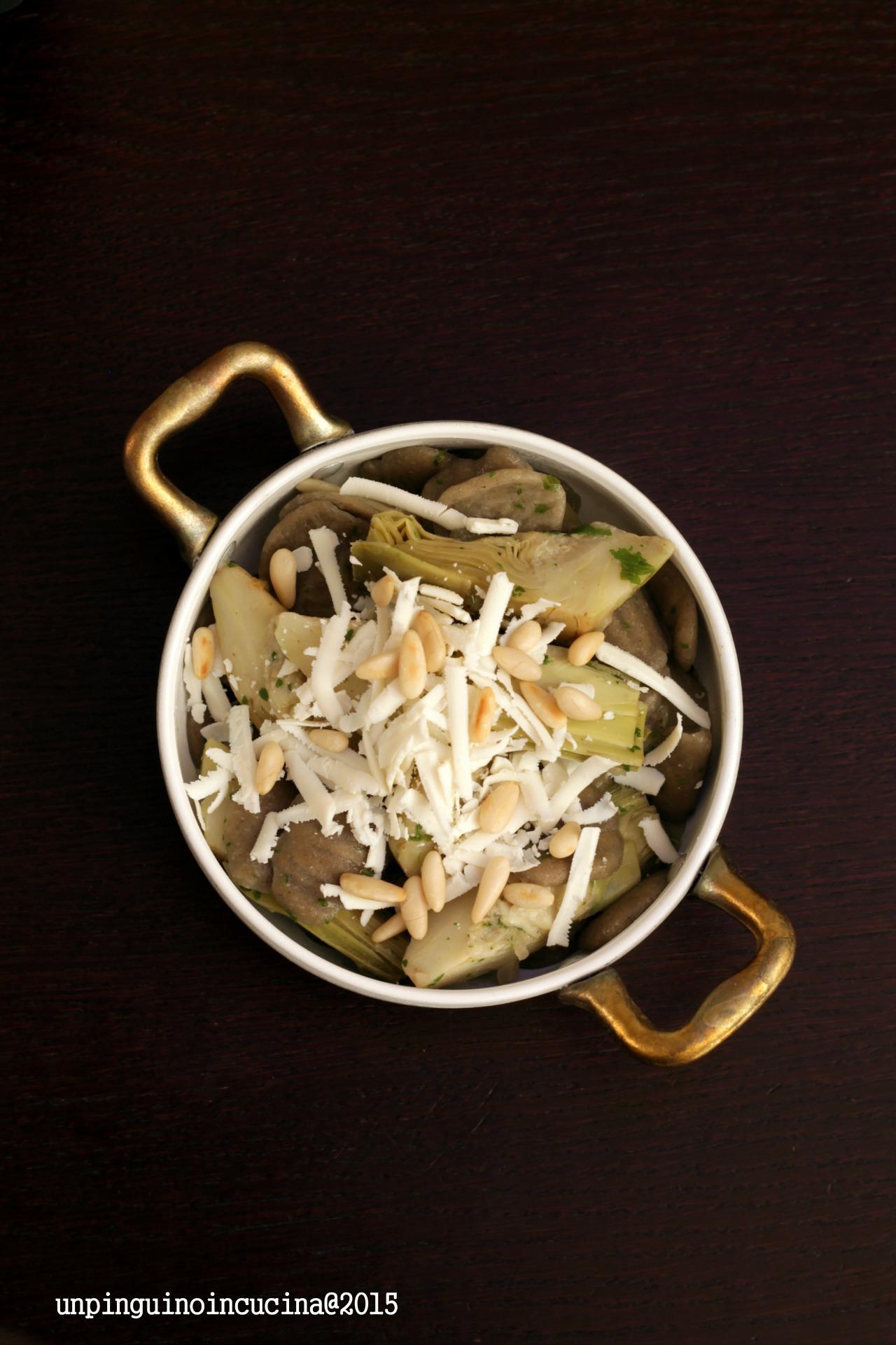 orecchiette-carciofi-pinoli-e-ricotta-salata