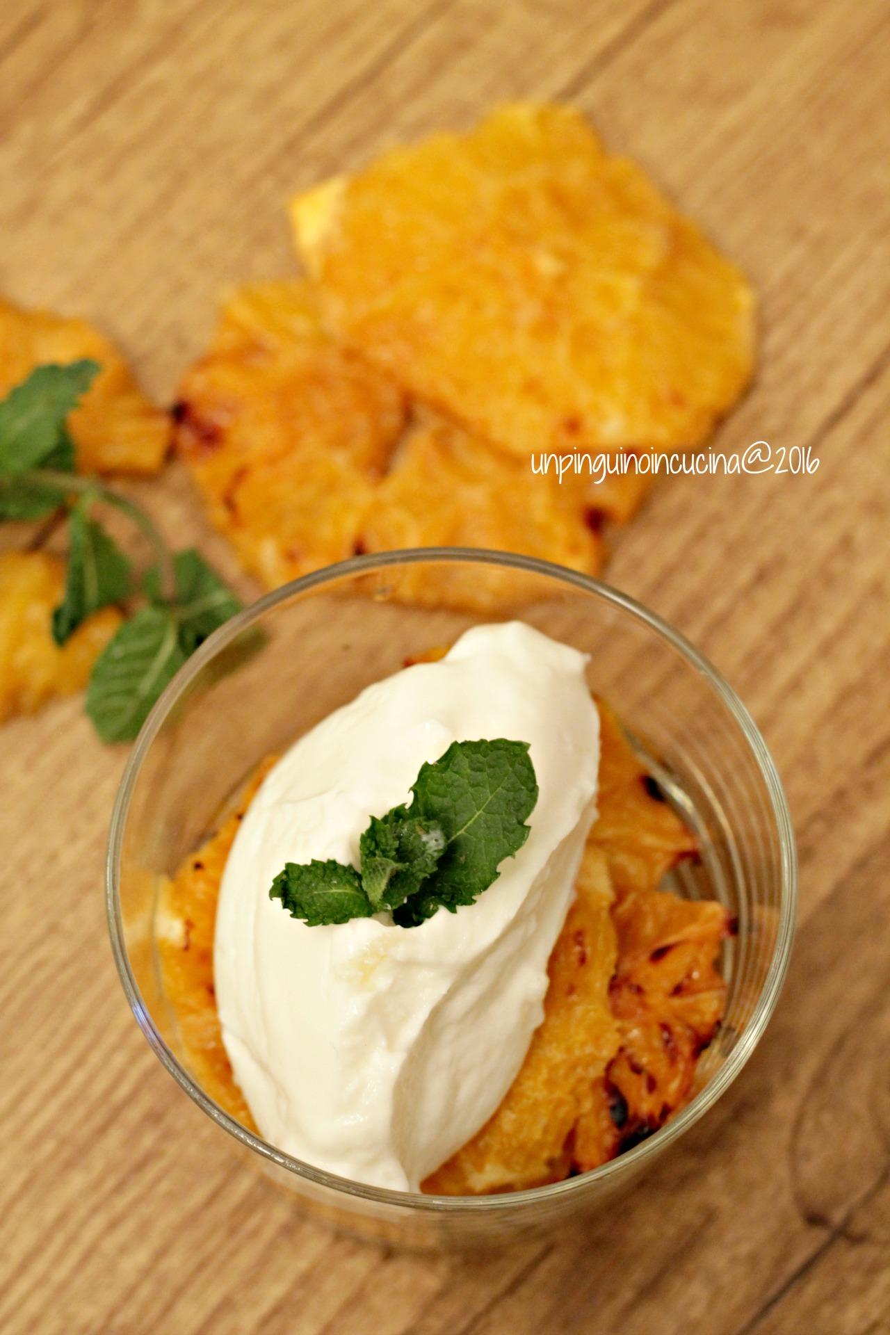 arance-caramellate-con-yogurt-e-menta