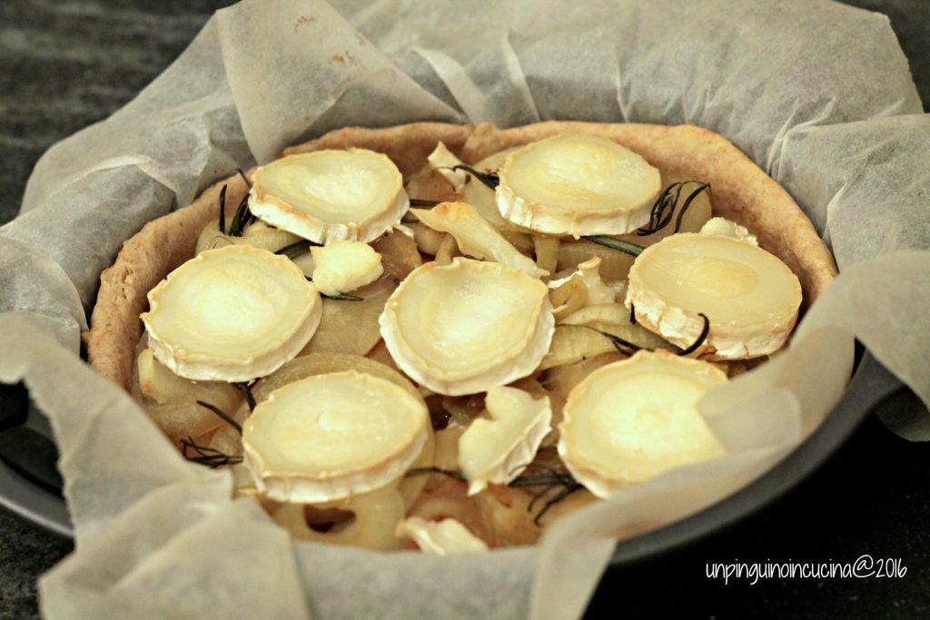 torta-salata-patate-cipolle-caramellate-e-chèvre