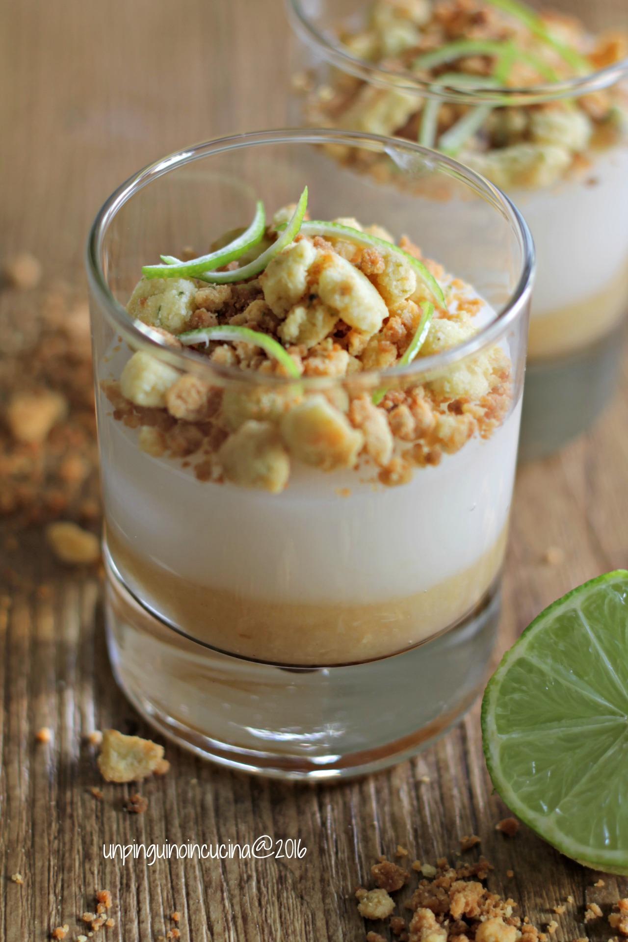 verrine-crema-al-latte-di-cocco-con-crumble-al-lime