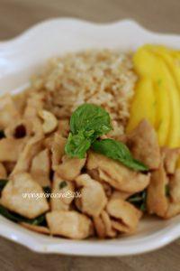 pollo-al-basilico-e-anacardi-con-mango-e-riso-al-cocco