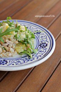 quinoa-con-soia-rucola-arancia
