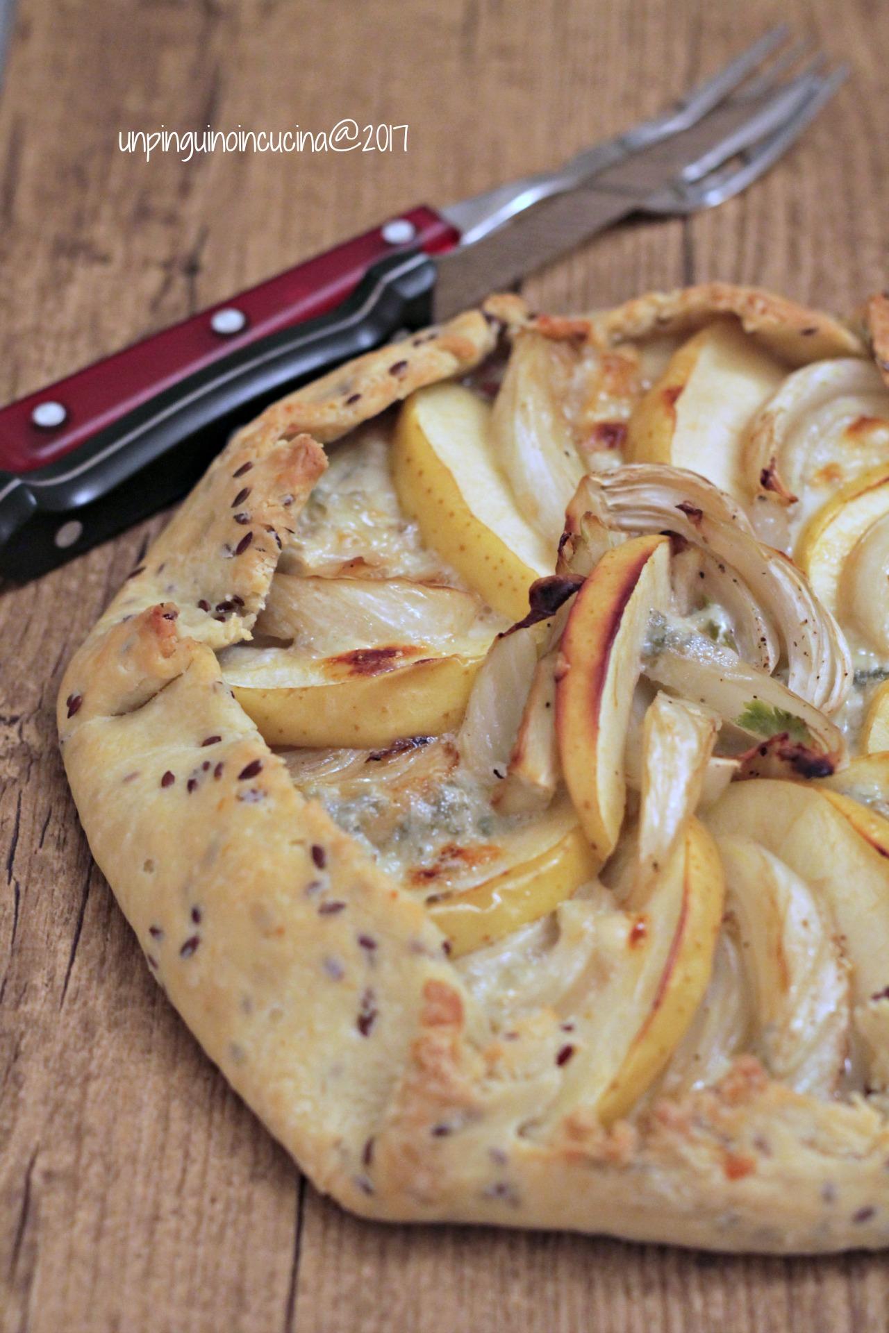 galette-finocchi-mele-e-gorgonzola