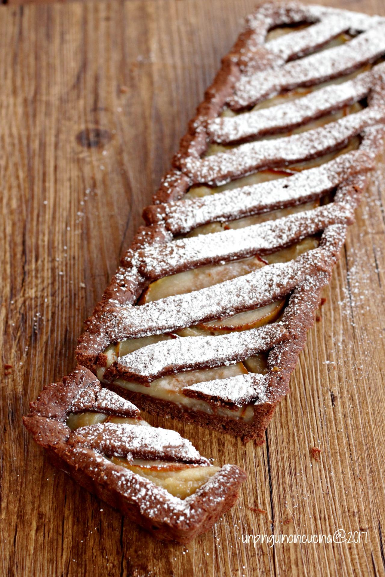 crostata-cioccolato-pere