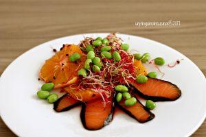 insalata-di-arance-edamame-e-salmone-affumicato