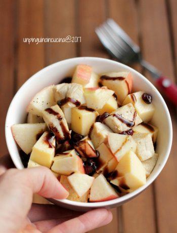 insalata-polenta-mela-e-tofu-caramellato-al-miele