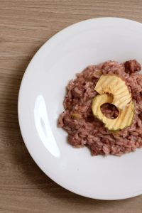 risotto-salsiccia-e-mele