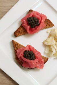 crostini-carpaccio-tartufo