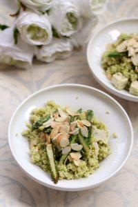couscous-al-pesto-di-asparagi-con-tofu-alle-erbe
