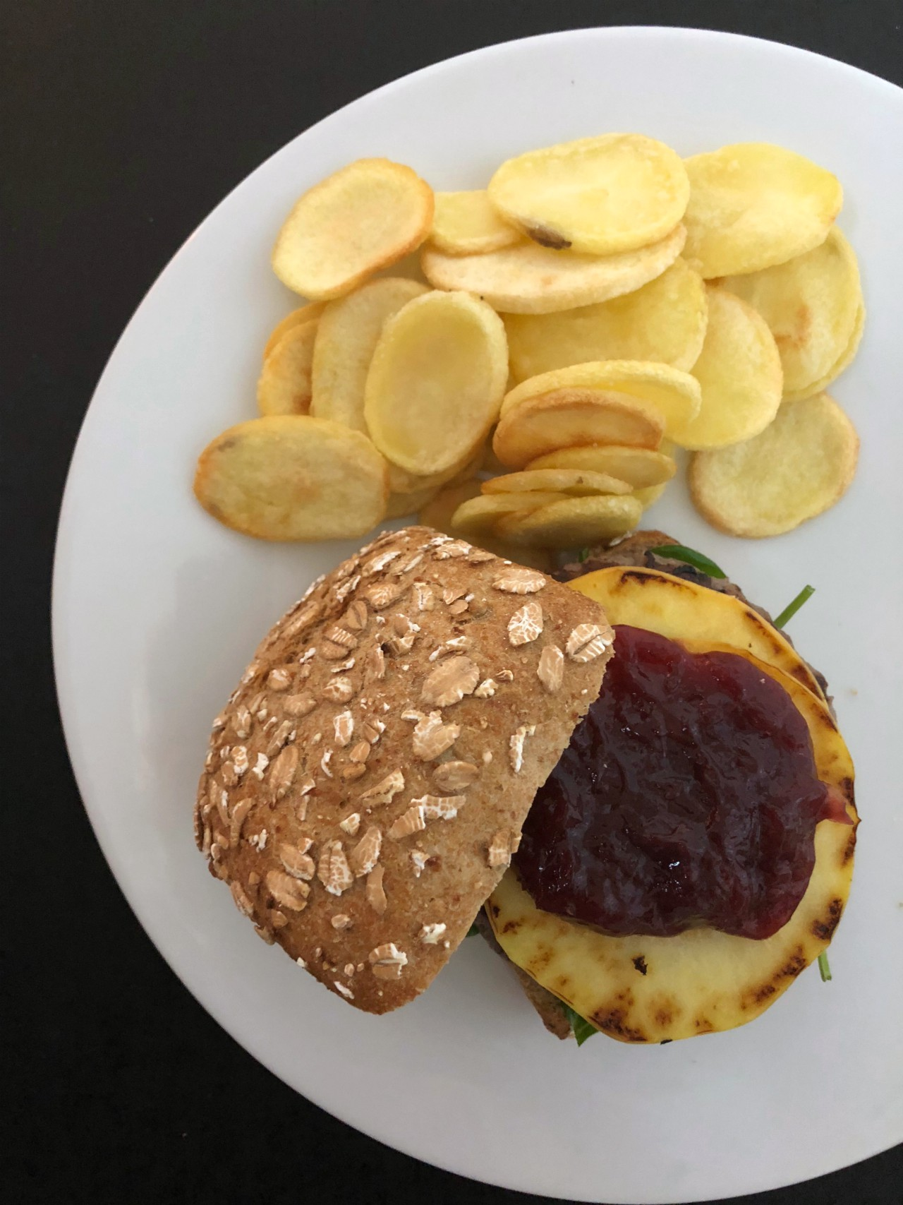 burger-mela-e-mirtilli-rossi