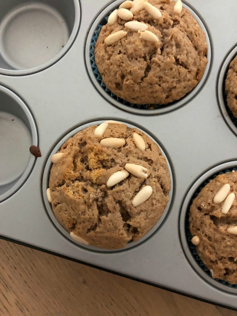 muffin-alla-farina-di-castagne-e-pinoli