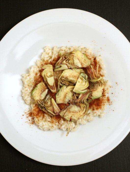 risotto-al-lime-con-carciofi-e-bottarga