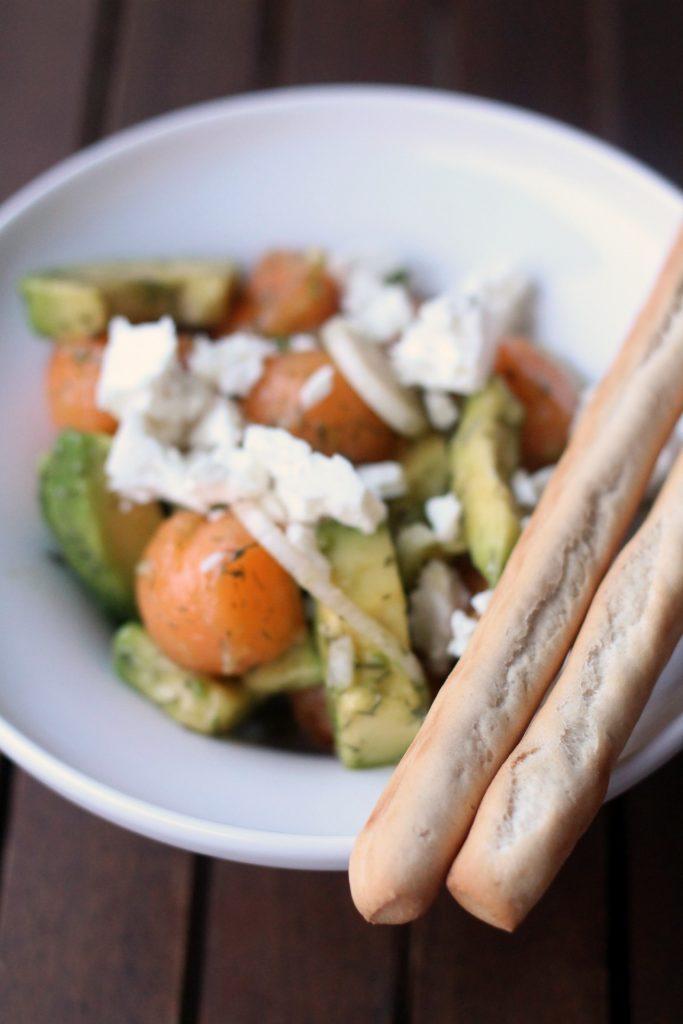 insalata-di-melone-avocado-e-feta