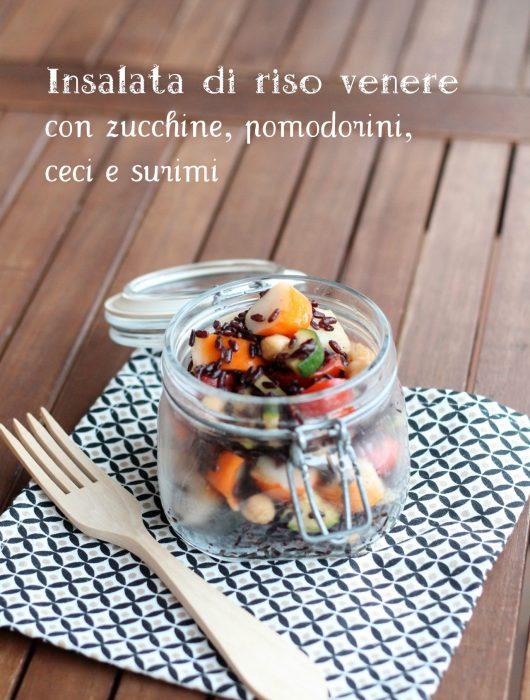 insalata-di-riso-venere-con-zucchine-pomodorini-ceci-e-surimi